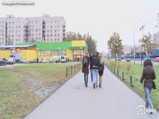 Порно видео молодых студентки - две лесбиянки трахаются